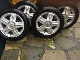 """Renault wheels 15"""" 185/55 R"""