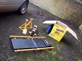 Halfords 5 Piece Lifting Kit