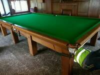 Full size snooker table BARGAIN