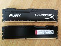 16GB RAM (2x8) DDR3 1866 MHz CL10