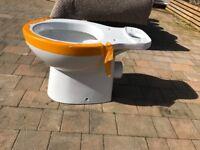 Brand new toilet base