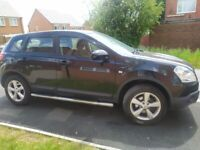 A clean tidy nissan qashqai petrol 1.6 well looked after, 6lo wasters please