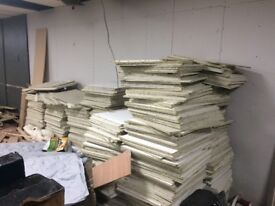 Ceiling Tiles - large amount available job lot