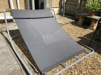 Sunlounger/ rocking deck chair style