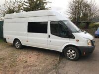 Ford Transit Jumbo LWB High Top 63 reg 52,000 miles £10,995.00 NO VAT