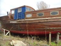Classic Historical Wooden Boat