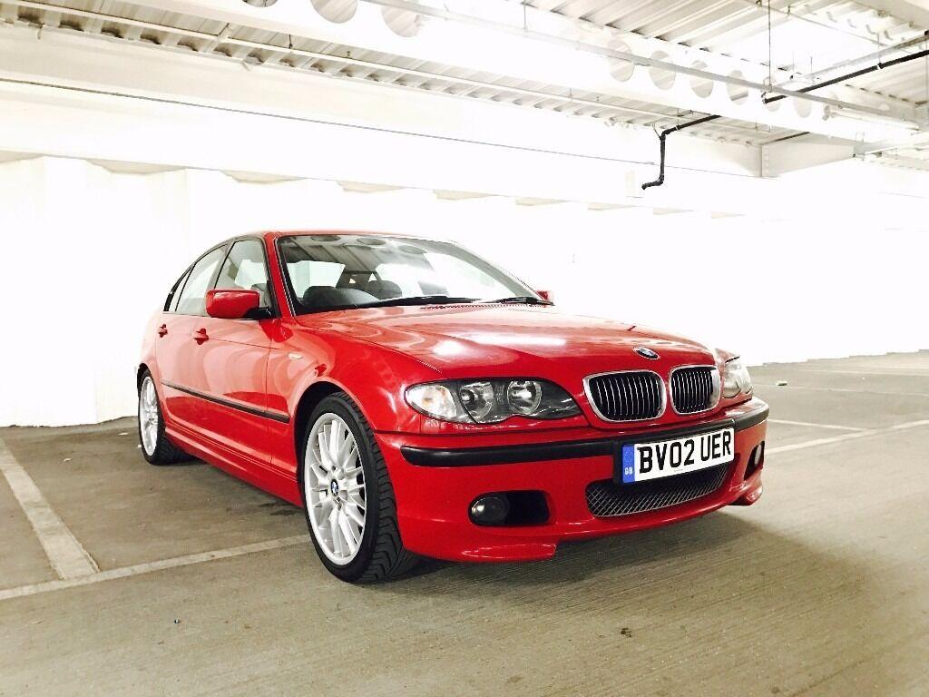 BMW 325i M Sport Manual 2002 Imola Red E46 Face Lift 126k Miles Long MOT  Mint