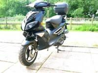 Jonway Madness 50cc moped