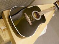 tanglewood nice black acoustic