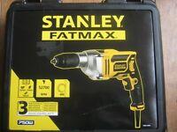 Stanley Fatmaz 750w hammer drill FME140K-GB new sealed box