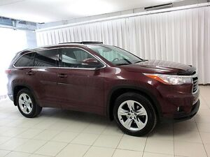 2015 Toyota Highlander LIMITED AWD SUV w/ LEATHER, NAVIGATION AN