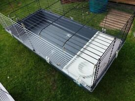 Indoor cage for guinea pigs or rabbit