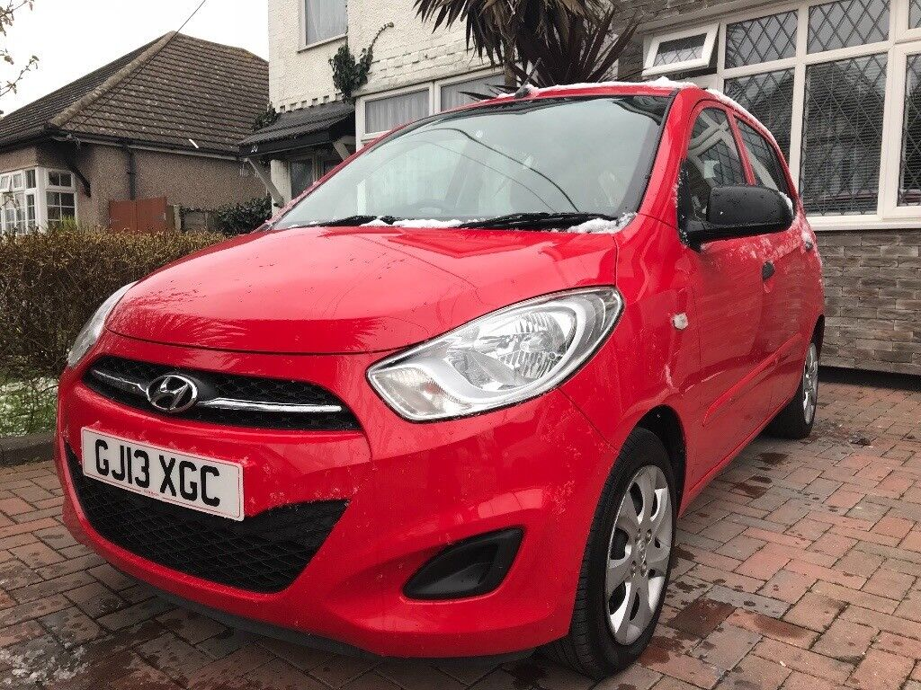 Excellent condition HYUNDAI I10, MANUAL, CD PLAYER, AUX, MOT, HPI CLEAR