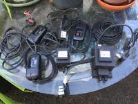 Range of outdoor lighting gear