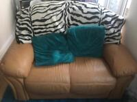 Leather sofa (SOLD)