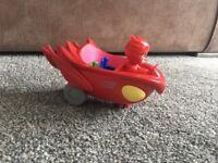 PJ Masks Owlette Vehicle and Figure