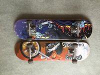 Skateboards (two)