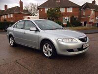 Mazda 6 TS2 1.8 petrol 2005/54 FSH/7stamps New Cam-chain bargain £595