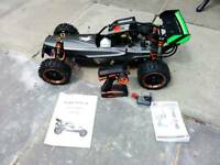Yama 1:5 Scale Petrol RC Buggy 2.4Ghz - Pro 30cc Carbon Version