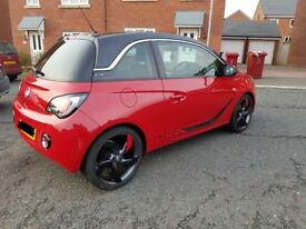 Vauxhall Adam Slam Red 'n' Roll High Spec