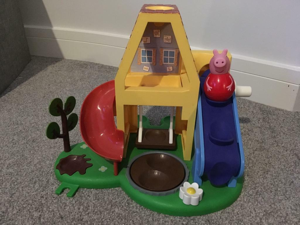 Peppa pig weebles house with Peppa in excellent condition