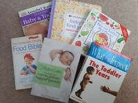 Parenting / baby / toddler / weaning books