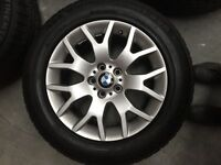 BMW X5 255/55R18 109H alloys and tyres for sale
