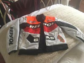 Scott's leathers textile jacket size 44