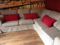 IKEA corner double bed sofa