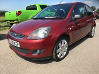 2008 08 REG FORD FIESTA 1.25 STYLE CLIMATE,MOT OCTOBER 2018,ONLY 45k MILES.