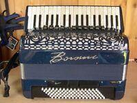 Borsini Vienna 374, 96 Bass, 4 Voice, Musette Tuned, Piano Accordion With MIDI.