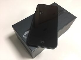 iPhone 5, Black, 32GB.