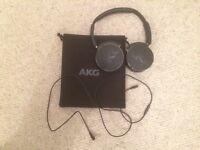 AKG Y50 headphones. Unused, good as new.