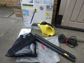 Karcher SC1 Premium Steam Stick Cleaner - Boxed and complete with all accessories