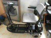 ULTRALITE CAR BOOT MOBILITY SCOOTER IN EXCELLENT CONDITION WITH NEW BATTERIES FITTED