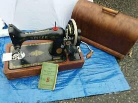 Singer sewing machine number 99 in good working order