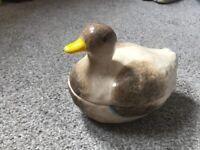 Duck design egg holder