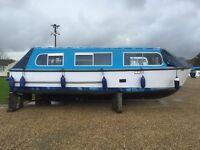 mk3 hampton safari river boat 4berth 1.5 BMC outstanding condition