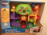 Vtech discovery activity tree
