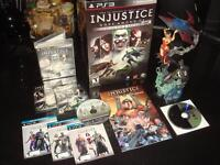 PLAYSTATION 3-INJUSTICE GOD'S AMONG US-COLLECTOR'S EDITION