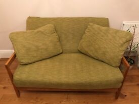 Solid Oak Premium Sofa Bed (Futon Company)