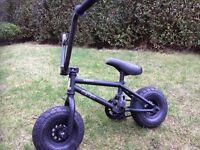 Rocker stunt bike (bmx). Mini. Rocker stunt bike.. black... only used twice.. needs a new home