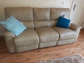 leather sofa ExC