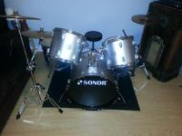 Sonor drums for sale