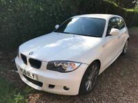 BMW 116d M SPORT 97K 5 DOOR HALF LEATHER OPEN TO SENSIBLE OFFERS