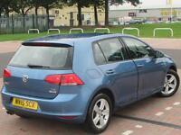 Volkswagen Golf MATCH TSI BLUEMOTION TECHNOLOGY (blue) 2015-06-30