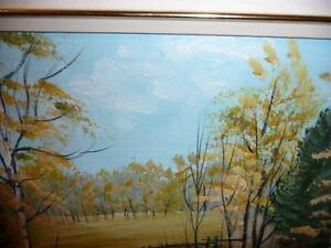 "L. M. Spears ""Country Scene"" Oil Painting Stratford Kitchener Area image 8"