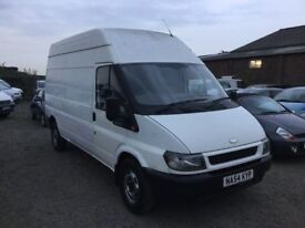2004 FORD TRANSIT LONG WHEELBASE HIGHTOP BIG VOLUME VAN ANY TRIAL CAME IN PX TODAY PX WELCOME