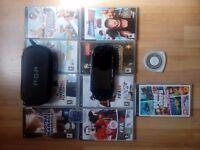 PSP + 10 games