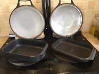 AGA Cast Aluminium Roaster & Skillet lid